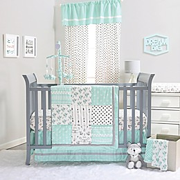 The Peanutshell™ Southwest Dreams 4-Piece Crib Bedding Set in Mint