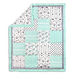 The Peanutshell™ Southwest Dreams Patchwork Quilt in Mint