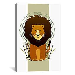 iCanvas Lion Canvas Wall Art