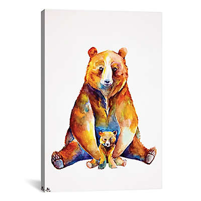 iCanvas Bear Necessities Canvas Wall Art