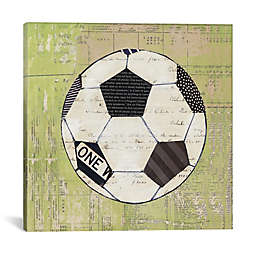 iCanvas Play Ball lll 37-Inch Square Canvas Wall Art