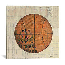 iCanvas Play Ball IV 26-Inch Square Canvas Wall Art