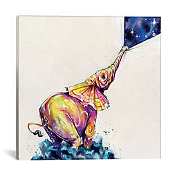 iCanvas Snickers Ice Cream Square Canvas Wall Art