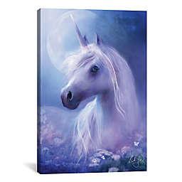 Icanvas Unicorn Moon Canvas Wall Art