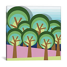iCanvas Forest Square Canvas Wall Art