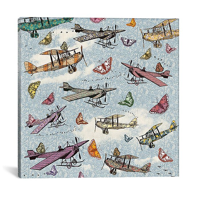 Alternate image 1 for iCanvas Vintage Sky 40-Inch Square Canvas Wall Art