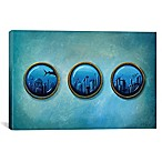 iCanvas Gateway to Antiquity 12-Inch x 18-Inch Canvas Wall Art