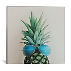 iCanvas Pineapple in Paradise 12-Inch Square Canvas Wall Art
