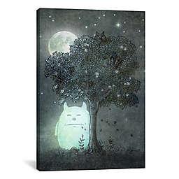 iCanvas Full Moon Spirit Canvas Wall Art