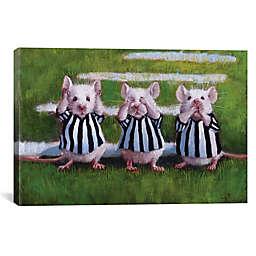 iCanvas Three Blind Mice Canvas Wall Art