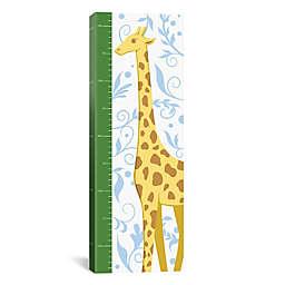 iCanvas Gorgeous Giraffe Growth Chart Canvas Wall Art