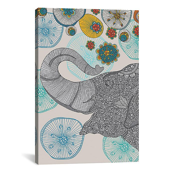 Alternate image 1 for iCanvas Shower of Joy 18-Inch x 26-Inch Canvas Wall Art