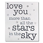 Wendy Bellissimo™  We Love You More  Wood Wall Art