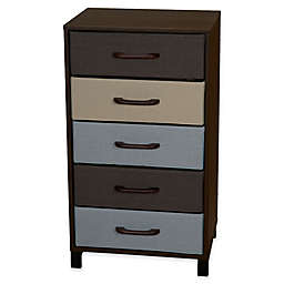 Household Essentials® Modular 5-Drawer Accent Table