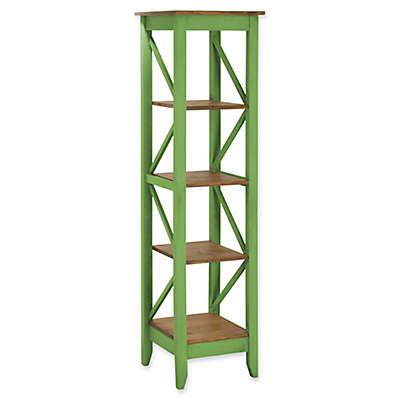 Manhattan Comfort Jay 18.5-Inch Wood Bookcase
