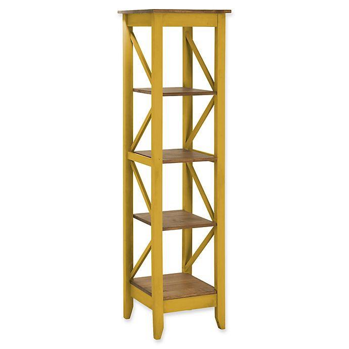 Alternate image 1 for Manhattan Comfort Jay 18.5-Inch Wood Bookcase