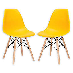 Poly and Bark Vortex Side Chair (Set of 2)