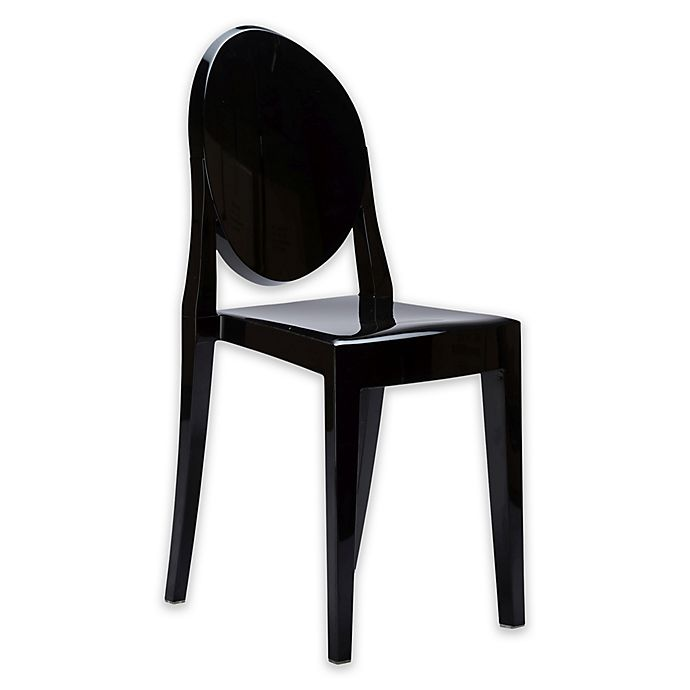 Alternate image 1 for Poly and Bark Burton Side Chair in Black