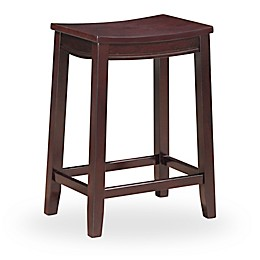 Linon Home Aubree Saddle Stool
