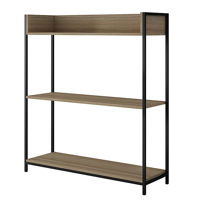 Alternate image 1 for Manhattan Comfort Ellis 2.0 Bookcase in Oak