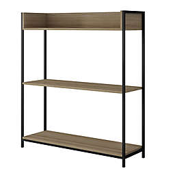 Manhattan Comfort Ellis 2.0 Bookcase in Oak
