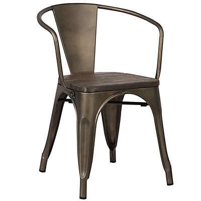 Poly and Bark Trattoria Arm Chair in Elmwood