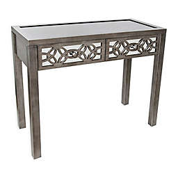 River of Goods Glam Slam 2-Drawer Mirrored Console Table