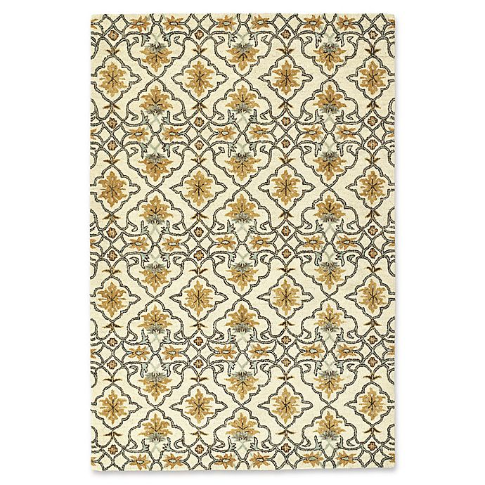 Alternate image 1 for Kaleen Helena Basra 12-Foot x 15-Foot Area Rug in Beige