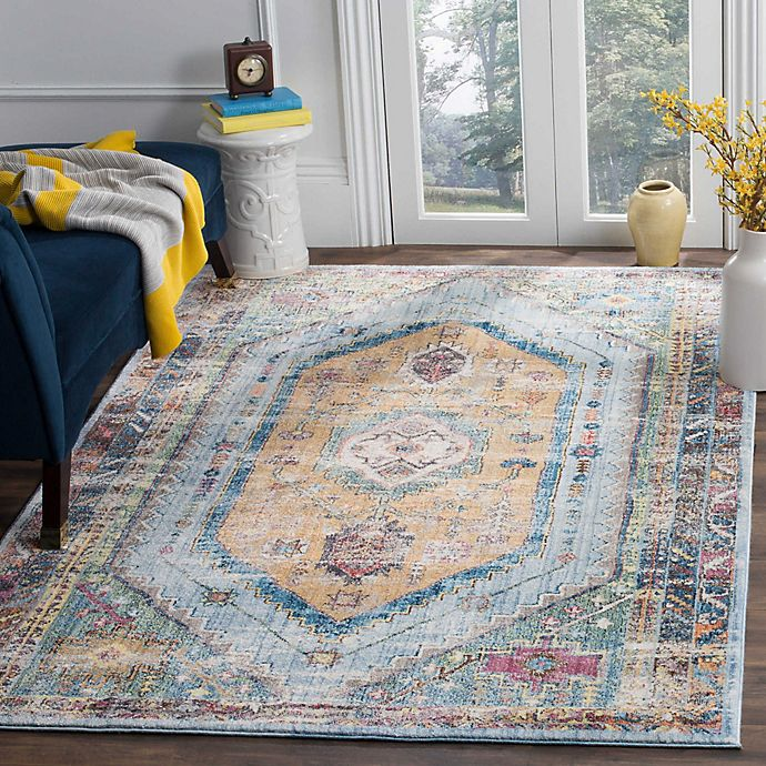 Alternate image 1 for Safavieh Bristol Clarissa 4-Foot x 6-Foot Area Rug in Blue