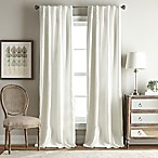 Simone 95-Inch Rod Pocket/Back Tab Room Darkening Window Curtain Panel in Ivory