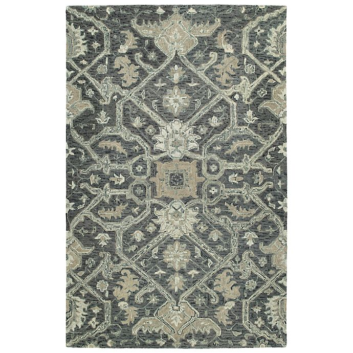 Alternate image 1 for Kaleen Chancellor Regal 9' x 12' Hand-Tufted Area Rug in Graphite