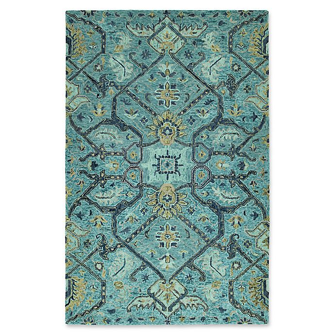 Alternate image 1 for Kaleen Chancellor Regal 9' x 12' Hand-Tufted Area Rug in Blue
