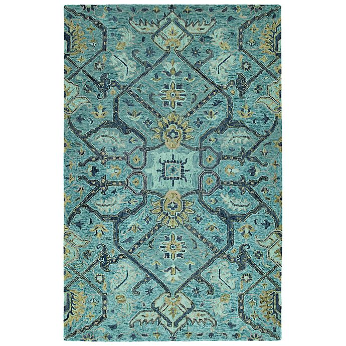 Alternate image 1 for Kaleen Chancellor Regal 10' x 14' Hand-Tufted Area Rug in Blue