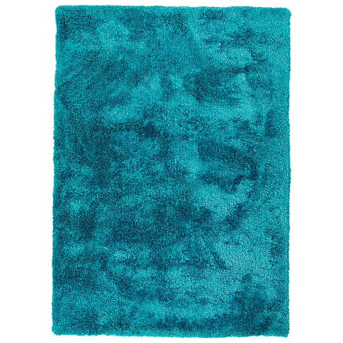 Alternate image 1 for Kaleen It's So Fabulous 8' x 10' Shag Area Rug in Teal