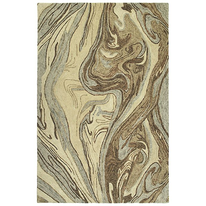 Alternate image 1 for Kaleen Marble Topography 5' x 7'9 Area Rug in Sand
