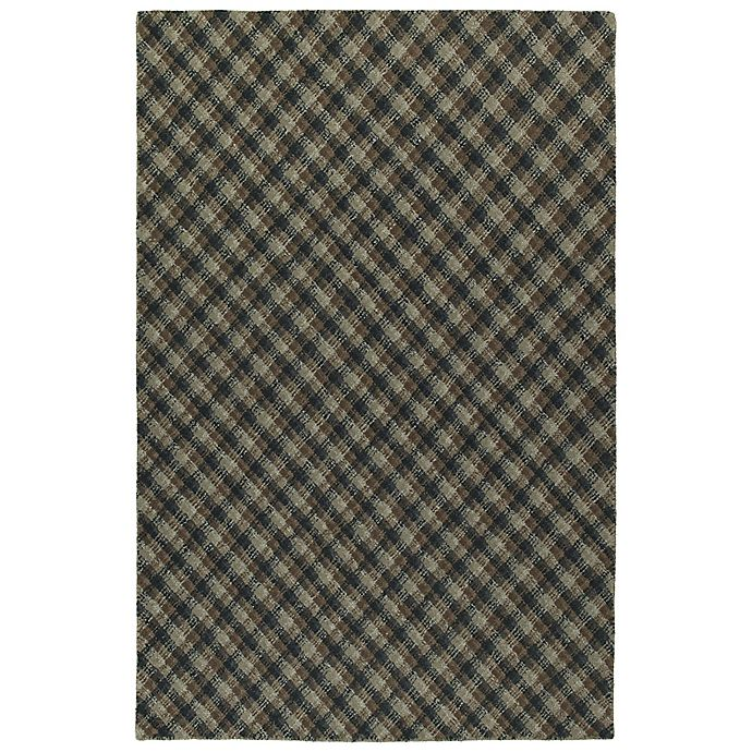 Alternate image 1 for Kaleen Sartorial Harvard 2' x 3' Accent Rug in Charcoal