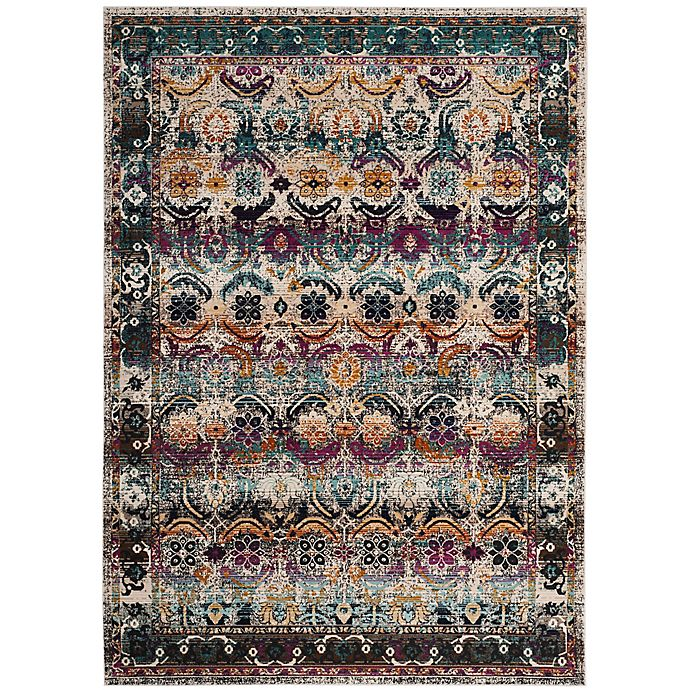 Alternate image 1 for Safavieh Baldwin 4-Foot x 6-Foot Brook Rug in Cream