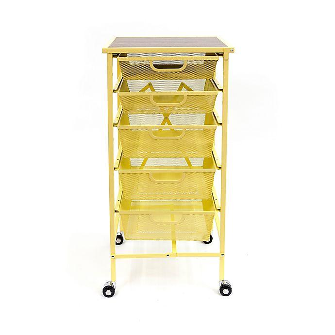 Origami 5 Drawer Foldable Wheeled Kitchen Cart Bed Bath