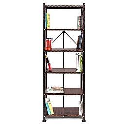 Origami 6-Shelf Foldable Bookshelf