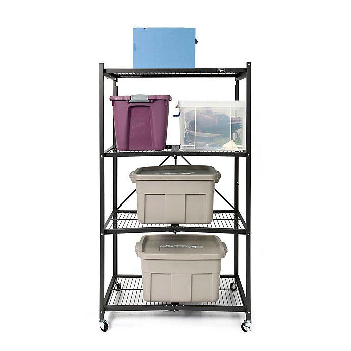 Origami Corner 4-Shelf Rack | 690x690