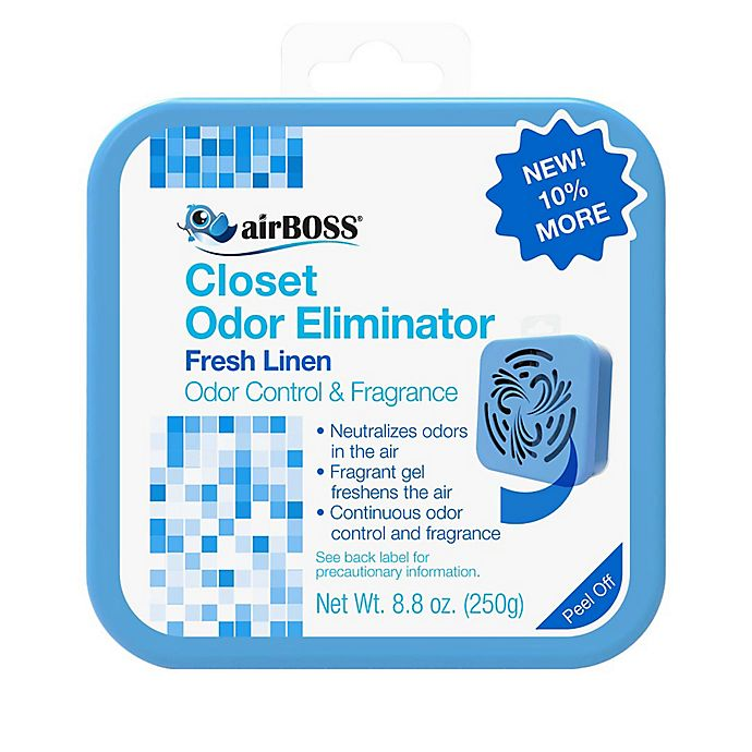 Alternate image 1 for AirBOSS® Linen Scent Closet Odor Eliminator