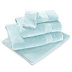 Turkish Modal Hand Towel in Aqua
