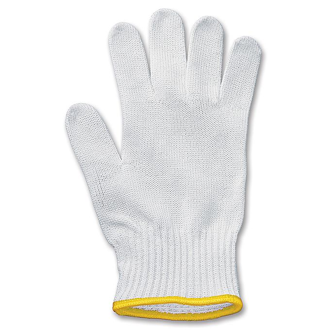 Alternate image 1 for Victorinox Swiss Army Size Extra Small UltimateShield Performance Glove in White/Gold