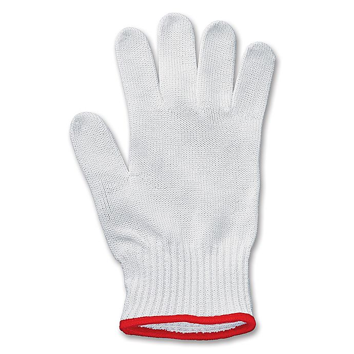 Alternate image 1 for Victorinox Swiss Army Size Small  UltimateShield Performance Glove in White/Red