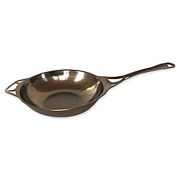 AUS-ION™ by Solidteknics 12-Inch Sauteuse Bombee Wok in Bronze