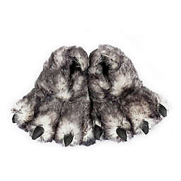 Wishpets Wolf Paw Size Small Slippers