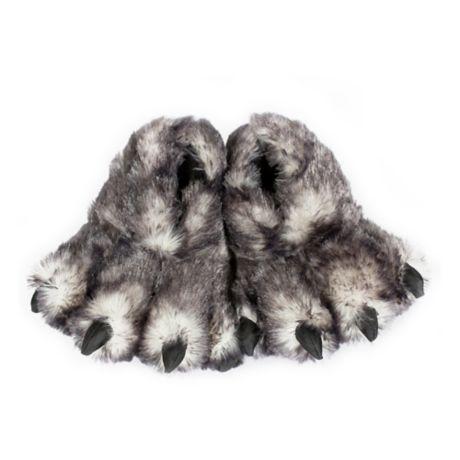 3c897e164152 Wishpets Wolf Paw Slippers