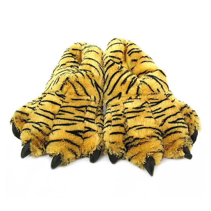 Alternate image 1 for Wishpets Furry Bengal Tiger Slippers