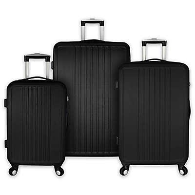 Elite Versatile 3-Piece Hardside Spinner Luggage Set