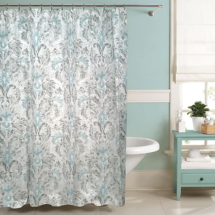 Bath Shower Curtains Raymond Waites Moorea Curtain Collection View A Larger Version Of This Product Image